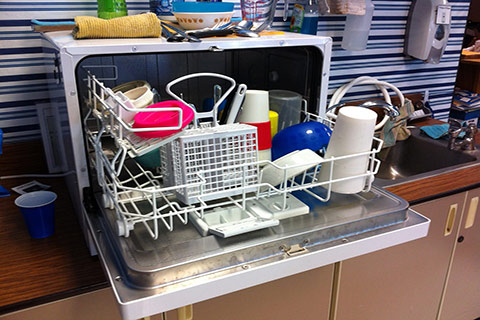 dishwashwer ation inspection