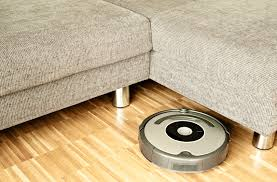 vacuum on floor