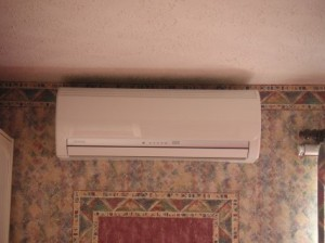 a bedroom ac unit