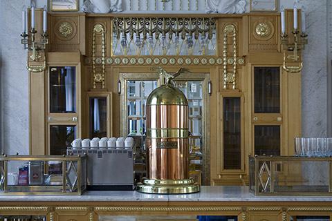 Brass Espresso Machine