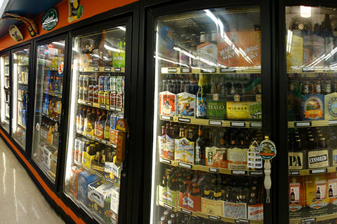 Commercial Beverage Cooler